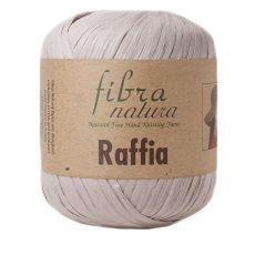 Пряжа Fibra Natura Raffia, цвет № 116-16 (Темно-бежевый)