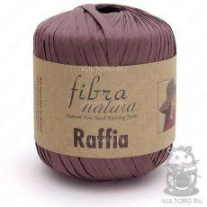 Пряжа Raffia Fibra Natura, цвет № 116-03 (Коричневый)