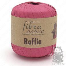 Пряжа Raffia Fibra Natura, цвет № 116-06 (Розовый)