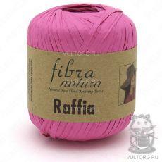 Пряжа Raffia Fibra Natura, цвет № 116-07 (Фуксия)