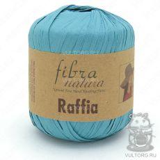 Пряжа Raffia Fibra Natura, цвет № 116-09 (Светло-голубой)