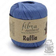 Пряжа Raffia Fibra Natura, цвет № 116-10 (Голубой)