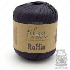 Пряжа Raffia Fibra Natura, цвет № 116-12 (Черный)