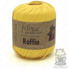 Пряжа Raffia Fibra Natura, цвет № 116-18 (Желтый)