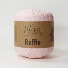 Пряжа Fibra Natura Raffia, цвет № 116-17 (Светло-розовый)