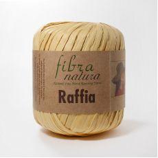 Пряжа Fibra Natura Raffia, цвет № 116-21 (Светло-желтый)