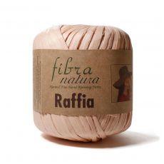 Пряжа Fibra Natura Raffia, цвет № 116-23 (Персик)