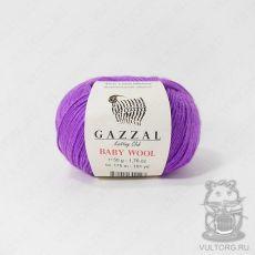 Пряжа Gazzal Baby Wool, цвет № 815 (Сиреневый)