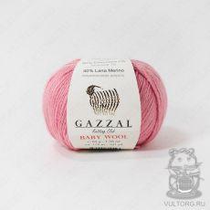 Пряжа Gazzal Baby Wool, цвет № 831 (Розовый)