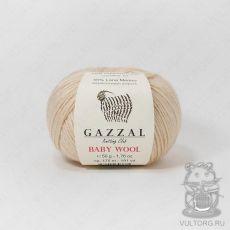 Пряжа Gazzal Baby Wool, цвет № 839 (Бежевый)