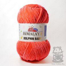 Пряжа Himalaya Dolphin Baby 80312 (Коралловый)