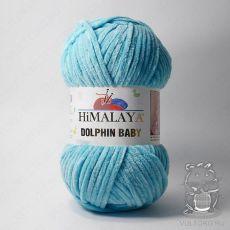 Пряжа Himalaya Dolphin Baby 80315 (Светло-голубой)