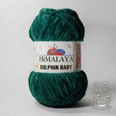 Пряжа Himalaya Dolphin Baby 80331 (Темно-бирюзовый)