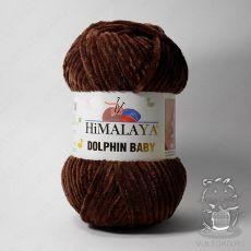Пряжа Himalaya Dolphin Baby 80336 (Коричневый)