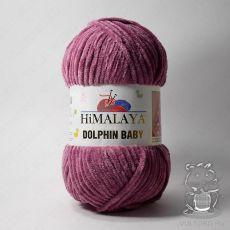 Пряжа Himalaya Dolphin Baby 80338 (Сухая роза)