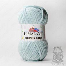 Пряжа Himalaya Dolphin Baby 80347 (Светло-голубой)