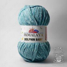 Пряжа Himalaya Dolphin Baby 80354 (Темная мята)