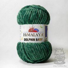 Пряжа Himalaya Dolphin Baby 80360 (Изумруд)