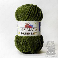 Пряжа Himalaya Dolphin Baby 80361 (Зеленый)