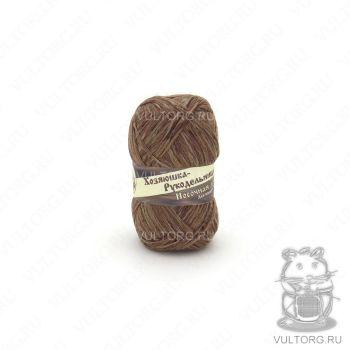 Носочная добавка Хозяюшка-Рукодельница, цвет № ND25 (Темный лен меланж)