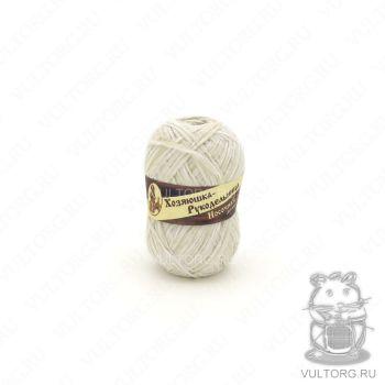 Носочная добавка Хозяюшка-Рукодельница, цвет № ND29 (Белый меланж)