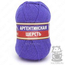 Пряжа Аргентинская шерсть Камтекс, цвет № 017 (Лесной колокольчик)