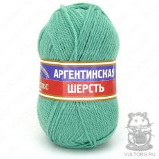 Пряжа Аргентинская шерсть Камтекс, цвет № 025 (Мята)