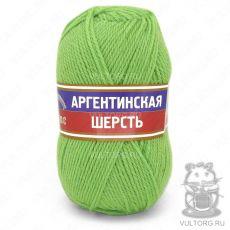Пряжа Аргентинская шерсть Камтекс, цвет № 026 (Салат)