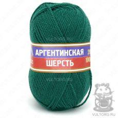 Пряжа Камтекс Аргентинская шерсть, цвет № 041 (Изумруд)