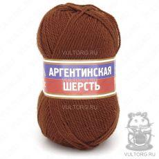 Пряжа Аргентинская шерсть Камтекс, цвет № 051 (Терракот)