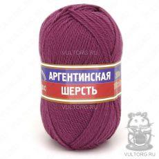 Пряжа Аргентинская шерсть Камтекс, цвет № 088 (Брусника)