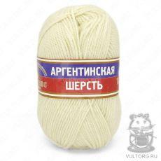 Пряжа Аргентинская шерсть Камтекс, цвет № 205 (Белый)