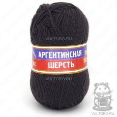 Пряжа Аргентинская шерсть Камтекс, цвет № 233 (Кофе)