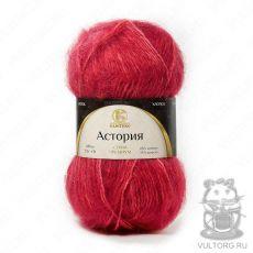 Пряжа Камтекс Астория, цвет № 11-410 (Красный меланж)