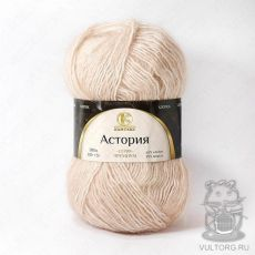 Пряжа Камтекс Астория, цвет № 188 (Топленое молоко)