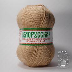 Пряжа Камтекс Белорусская, цвет № 006 (Светло-бежевый)