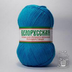 Пряжа Камтекс Белорусская, цвет № 024 (Бирюза)