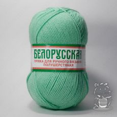 Пряжа Камтекс Белорусская, цвет № 025 (Мята)