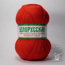 Пряжа Камтекс Белорусская, цвет № 046 (Красный)
