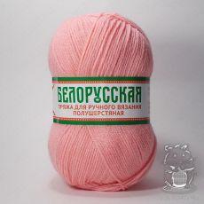 Пряжа Камтекс Белорусская, цвет № 056 (Розовый)