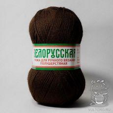 Пряжа Камтекс Белорусская, цвет № 063 (Шоколад)