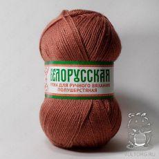 Пряжа Камтекс Белорусская, цвет № 088 (Брусника)