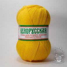 Пряжа Камтекс Белорусская, цвет № 104 (Желтый)