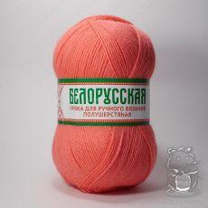 Пряжа Камтекс Белорусская, цвет № 116 (Неоновый коралл)