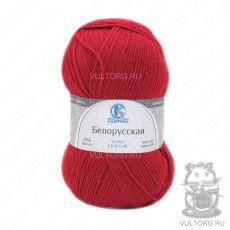 Пряжа Белорусская Камтекс, цвет № 046 (Красный)