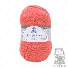 Пряжа Белорусская Камтекс, цвет № 116 (Неоновый коралл)
