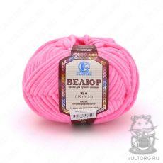 Пряжа Велюр Камтекс, цвет № 054 (Супер-розовый)