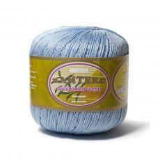 Пряжа Камтекс Вискозный шелк блестящий, цвет № 015 (Голубой)