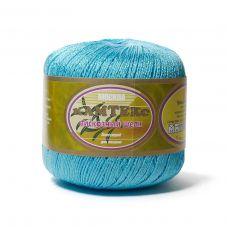 Пряжа Камтекс Вискозный шелк блестящий, цвет № 024 (Бирюза)