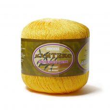 Пряжа Камтекс Вискозный шелк блестящий, цвет № 104 (Желтый)